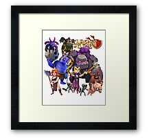 The New Dark Troops Framed Print