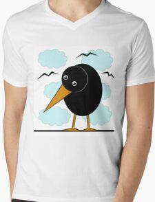 Raven Mens V-Neck T-Shirt
