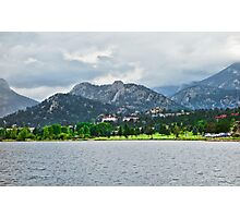 Stanley Hotel from Lake Estes  Photographic Print