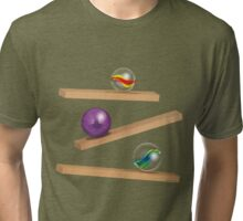 Classic Game - Cristal Marbles Tri-blend T-Shirt