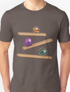 Classic Game - Cristal Marbles Unisex T-Shirt