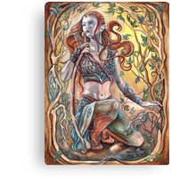 Elven Huntress Canvas Print
