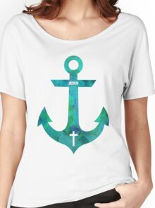 Christian Anchor Women's Relaxed Fit T-Shirt