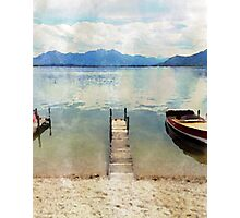 Chiemsee, Bavaria Photographic Print