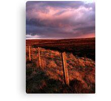 Moors Sunset Canvas Print