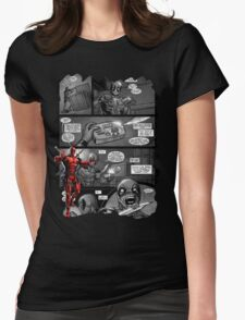 DP Comic Womens Fitted T-Shirt