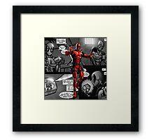 DP Comic Framed Print