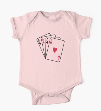 Poker aces gambling One Piece - Short Sleeve