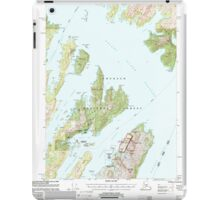 USGS TOPO Map Alaska AK Seward A-3 358865 2000 63360 iPad Case/Skin