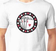 Casino poker aces Unisex T-Shirt