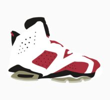 AIR JORDAN 6 CARMINE by mixedblood