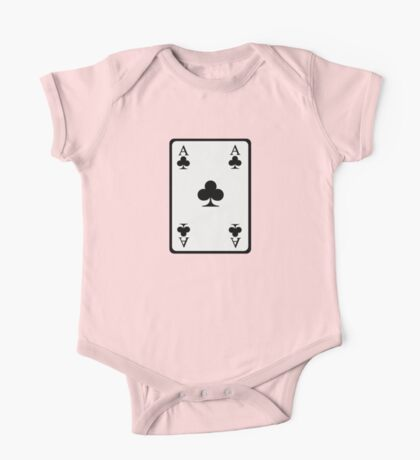 Poker ace clubs One Piece - Short Sleeve
