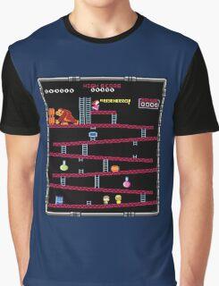 Heisenberg and Donkey Kong Graphic T-Shirt