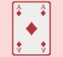 Poker ace diamonds Kids Clothes