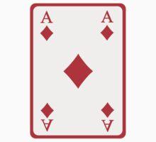Poker ace diamonds One Piece - Long Sleeve