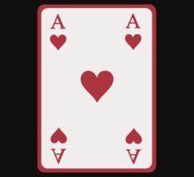 Poker ace heart Baby Tee
