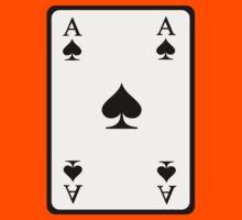Poker ace spades Kids Clothes