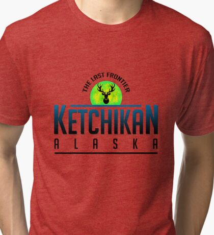 Wonderful Ketchikan Alaska Tri-blend T-Shirt