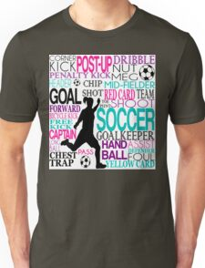 Words of football 578 Unisex T-Shirt