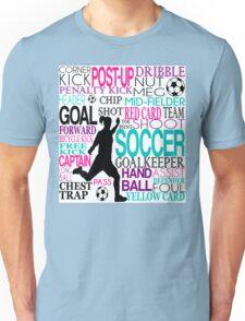Words of football 578 Unisex T-Shirt