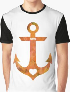 Christian Anchor Graphic T-Shirt