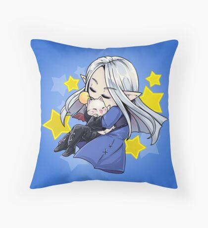 Sleeping Ysayle Throw Pillow