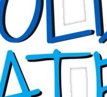 Justin Bieber - Cold Water Sticker