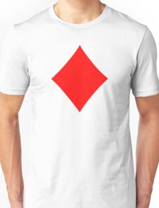 Poker diamonds Unisex T-Shirt