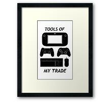 Tools Of My Trade Framed Print