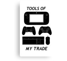 Tools Of My Trade Canvas Print
