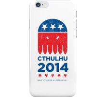 Vintage CTHULHU 2014 iPhone Case/Skin