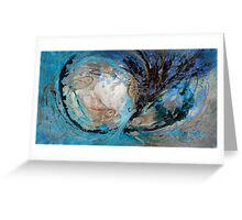 The Splash Of Life 22. The Sea Horse Greeting Card