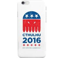 Vintage CTHULHU 2016 iPhone Case/Skin