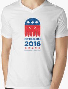 Vintage CTHULHU 2016 Mens V-Neck T-Shirt