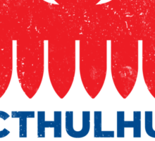 Vintage CTHULHU 2016 Sticker