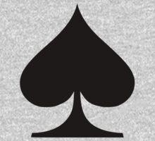 Poker spades One Piece - Long Sleeve