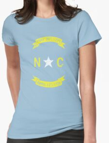 Vintage North Carolina Womens Fitted T-Shirt