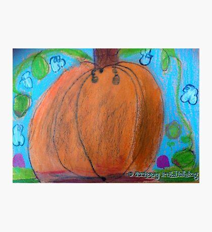 Lola's Pumpkin Dream  Photographic Print