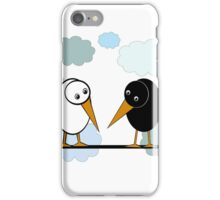 Two birds iPhone Case/Skin