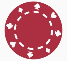 Red Poker chips Kids Clothes