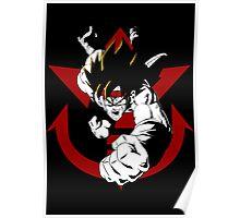 Saiyan Force Elite - Bardock Poster