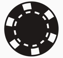 Black poker chips by Designzz