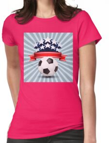 Bright Stars 578 Womens Fitted T-Shirt