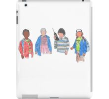 Stranger Things - the Friends iPad Case/Skin