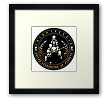 Irishtrekkie Patch Framed Print