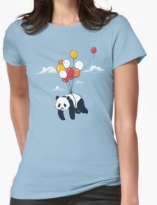 Flying Panda Womens Fitted T-Shirt
