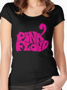 pink floyd, logo  Women's Fitted Scoop T-Shirt