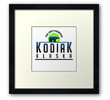 Kodiak Alaska Explorer Framed Print