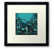 Underwater Tardis Framed Print