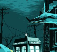 Underwater Tardis Sticker